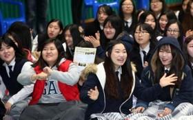 韓國高中生。(圖源:互聯網)