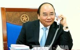 政府總理阮春福向老柬總理祝賀新年。(示意圖源:越通社)