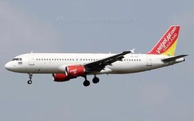 圖為泰國越捷VZ940航班的Airbus A320飛機。(圖源:Omid83/Planespotter.net.)