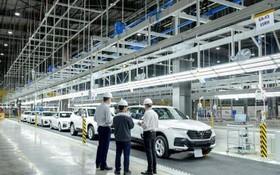 Vinfast:今年6月間準備把汽車生產廠組合全部投產。(圖源:芳簪)