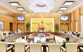 會議現場。(圖源:Quochoi.vn)