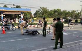 國家交通安全委員會辦公廳主任阮仲泰表示,節日假期4天後,全國發生111起交通事故,導致80人死亡,79人受傷。圖為交警在現場處理一起嚴重交通事故。(圖源:玄庒/越通社)