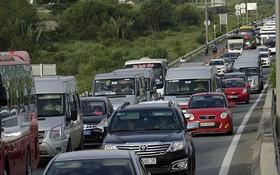 本市-隆城-油曳高速車流量創新高。(圖源:獨立)