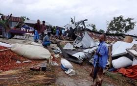 印度遭近年來最強熱帶氣旋「法尼」侵襲,在東岸奧里薩邦至少有12人死亡。(圖源:互聯網)