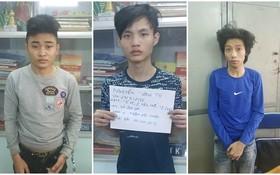 涉案的3名嫌犯李泰輝(左)、林日武(中)和阮相秀。(圖源:公安機關提供)