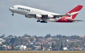 """澳洲昆達士推出全球首個""""無垃圾""""航班。(圖源:AFP)"""