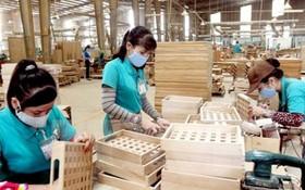 木製品工廠一隅。(圖源:PV)