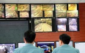 攝像監控系統把圖片、數據傳回西貢河隧道管理中心。