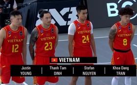 代表越南隊4名球員。(圖源:互聯網)