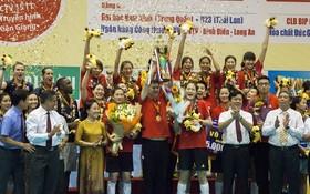中國四川女子排球隊榮獲2019年平田VTV9盃國際女子排球比賽冠軍。