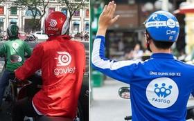 Go Viet與FastGo正式獲權力機關批准在本市試行開展從事網約合同客運活動。(圖源:田升)