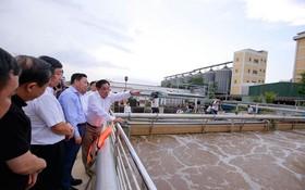 神浪二工業區廢水處理工廠。
