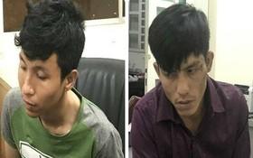 被起訴的2名劫匪陳俊英(左)及阮武黃南。(圖源:警方提供)