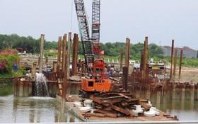 本市10萬億元治水項目已於今年春節後重啟,但因涉及場地清拆移交的有關手續羈絆,令進度全線放緩。(圖源:吳平)