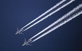 航空業加強減排技術開發應對氣候變暖。(示意圖源:互聯網)