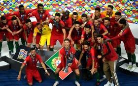 葡萄牙隊勝荷蘭隊獲得歐國聯的冠軍。