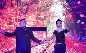 蔡榮與青霞演唱一瞥。