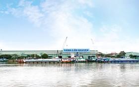 座落隆安省濱瀝市的錦源國際碼頭一隅。