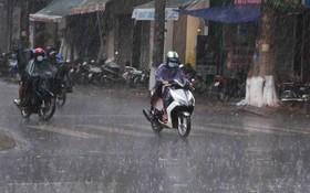 中央水文氣象預報中心:未來數天南部降雷陣雨。(示意圖源:互聯網)