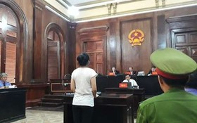 被告人武瑞紅玉在法庭上答審判問案。(圖源:互聯網)