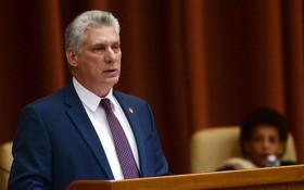 現任古巴國務委員會主席兼部長會議主席迪亞斯-卡內爾。(圖源:互聯網)