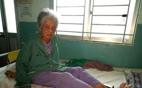 辛嬌正在安平醫院接受醫治。