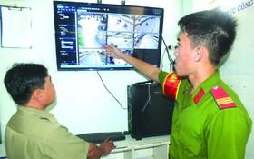 本市增設監控視頻懲處有損環境衛生的行徑。(圖源:海南)