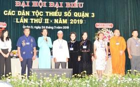獲選參加市各少數民族代表大會的7位代表及2位後補代表。
