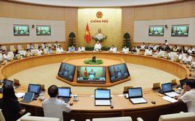 會議現場。(圖源:Chinhphu.vn)