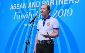 東盟SOM越南代表、外交部副部長阮國勇在開幕式上致詞。(圖源:越通社)