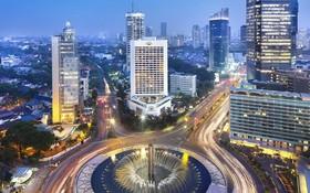 印尼雅加達夜景一瞥。(圖源:互聯網)