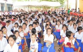 展邦清平華文中心舉行開學禮。