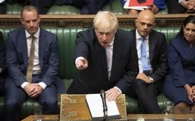 """英首相堅稱無論如何都會在10月31日""""脫歐""""。(圖源:新華社)"""