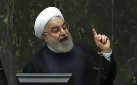 伊朗總統魯哈尼威脅進一步削減對核協議的承諾。(圖源:AP)