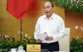 政府總理阮春福在會上致結論詞。(圖源:Chinhphu.vn)