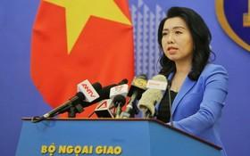 越南外交部發言人黎氏秋姮。(圖源:外交部)
