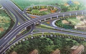 第二郡安富交通樞紐總體設計圖。(圖源:互聯網)