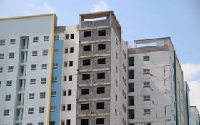 座落於胡學覽街35號的社會住房項目逾期兩年尚未完成。(圖源:仲信)