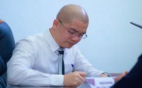 圖為阿里巴巴房地產股份公司董事長兼總經理阮泰練。(圖源:田升)