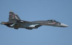 圖為俄軍蘇-35戰鬥機。 (圖源:俄新社)