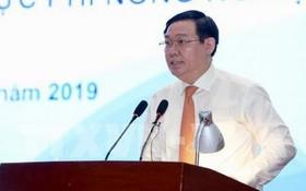 王廷惠副總理在會議上發表講話。(圖源:越通社)