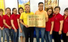 """順捷旅行社最近獲得中國張家界市文化旅遊廣電體育局頒發張家界""""絲路驛站""""稱號。"""