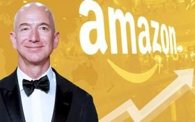 福布斯美國富豪榜,亞馬遜創始人兼CEO傑夫-貝索斯蟬聯冠軍。()