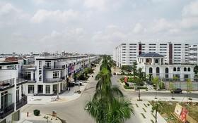 隆安省已完成及移交的廉價住房。