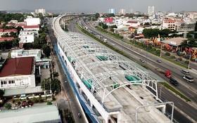 圖為濱城-仙泉地鐵1號線項目一瞥。(圖源:獨立)