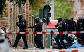 德國薩勒河畔的哈勒市發生槍擊案,造成兩人喪生。(圖源:路透社)