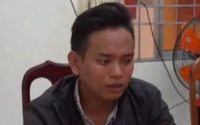 被扣押的嫌犯黎俊英。(圖源:警方提供)