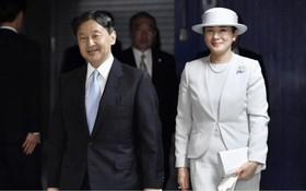 日本天皇德仁與皇后雅子。(圖源:Kyodo)