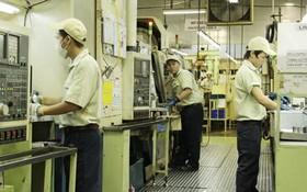 圖為日資越南Takako有限公司的生產車間一瞥