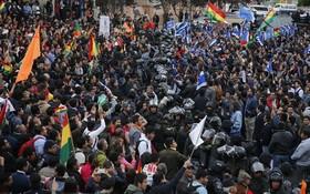 10月23日至26日,玻利維亞總統大選投票引發的全國大罷工,已對工業部門造成了超過6000萬美元的經濟損失。(圖源:AP)
